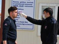 Patnos Cezaeninde koronavirüs önlemleri arttırıldı