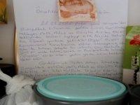 14 günlük karantina sonrası yürek ısıtan mektup