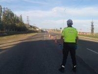 Ağrı İl Emniyet Müdürlüğü sokağa çıkma kısıtlamasında denetimlerini sürdürüyor