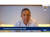 Fenerbahçe Başkanı Ali Koç'tan flaş açıklama