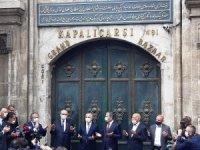 Tarihi Kapalıçarşı dualarla açıldı