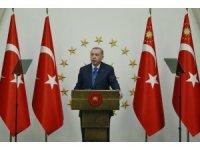 Cumhurbaşkanı Erdoğan, Libya Başbakanı Fayiz Es-Serrac'ı kabul etti