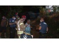 Sürücü kaza sonrası alkollü arkadaşını olay yerinde bırakarak kaçtı
