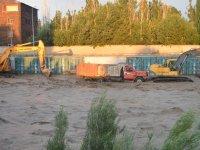 Ağrı'da sel felaketi maddi hasara neden oldu