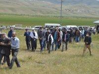 Cezair'de iş kazasında hayatını kaybeden Ağrılı işçiler toprağa verildi