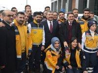 Sağlık Bakanı Koca Ağrı'da Açıkladı '1480 kişinin ataması yapılacak'