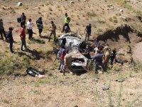 Ağrı'da trafik kazası! 3 ölü 2 yaralı