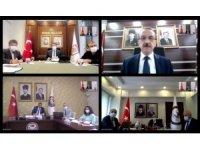 Bakan Koca 4 ilin valisiyle toplantı yaptı