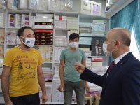 Ağrı'da Koronavirüs'e yönelik sıkı denetimler devam ediyor