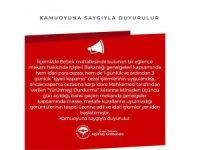 Skandal görüntülere Beşiktaş Kaymakamlığından açıklama