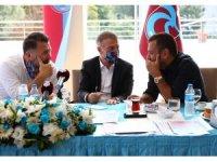 Ahmet Ağaoğlu basın mensuplarıyla bir araya geldi