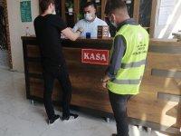 Ağrı'da karantina kurallarını ihlal eden 2 kişiye para cezası verildi