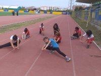 Ağrılılar spor yapmak için stadyuma akın ediyor