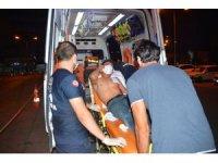 Yabancı uyruklu şahıs polis tarafından sokakta bıçaklanmış halde bulundu