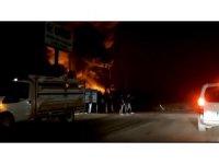 Bursa'da soğuk hava deposundaki yangın söndürüldü