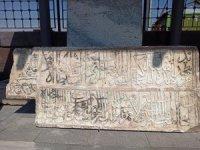 Kanuni Sultan Süleyman'a ait 487 yıllık tamirat kitabesi bulundu