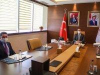 Milletvekili Çelebi, Bakan Kasapoğlu'nu ziyaret etti