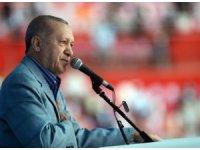 """Cumhurbaşkanı Erdoğan, """"İnşallah ülkemizi afetlere dayanıksız yapıların tamamından kurtaracağız"""""""