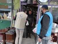 Beşir Derneği vatandaşlara Kandil Simidi dağıttı