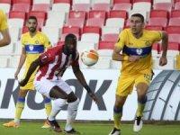 UEFA Avrupa Ligi: Sivasspor: 0 - Maccabi Tel Aviv: 0