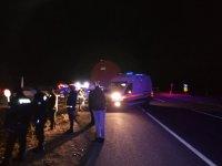 Ağrı'da korkutan kaza; 17 yaralı