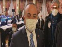 """Dışişleri Bakanı Çavuşoğlu: """"Bize yapılan bir şeyi karşılıksız bırakmayız"""""""