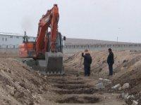 Ağrı'da kış öncesi 200'e yakın mezar kazıldı
