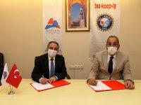 AİÇÜ'de Toplu İş Sözleşmesi İmzalandı