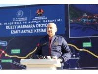 """""""Kuzey Marmara otoyolu tamamen akıllı bir otoyol olarak dizayn edildi"""""""
