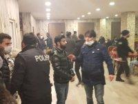 Ağrı'da okey oynatan 2 işletme ile işletmede bulunan 70 kişiye cezai işlem uygulandı