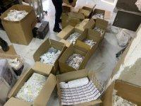 Ataşehir'de sahte ilaç imalatı yapan iş yerine operasyon