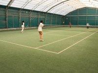 Ağrılı şampiyon tenisçiler milli takıma seçilmek için ter döküyor