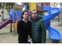 """Deprem acısını yaşayan anneden """"çocuk parkı"""" talebi"""