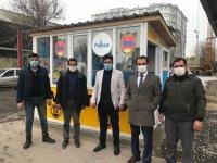 Ağrı'nın Patnos ilçesine taksi durakları yapıldı