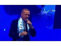 """Cumhurbaşkanı Erdoğan: """"Onlara rağmen Kanal İstanbul'u yapacağız, inadına yapacağız"""""""