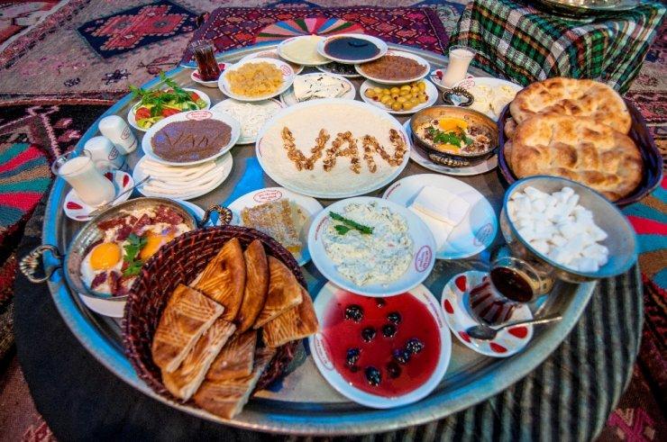 Van kahvaltısı UNESCO yolunda