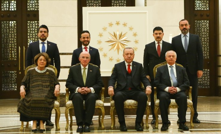 Cumhurbaşkanı Erdoğan, Meksika Büyükelçisini kabul etti