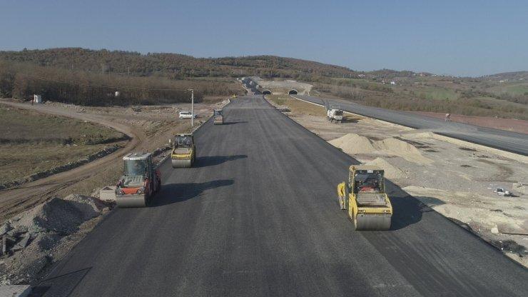 Kuzey Marmara Otoyolunda çalışmaların yüzde 85'i tamamlandı
