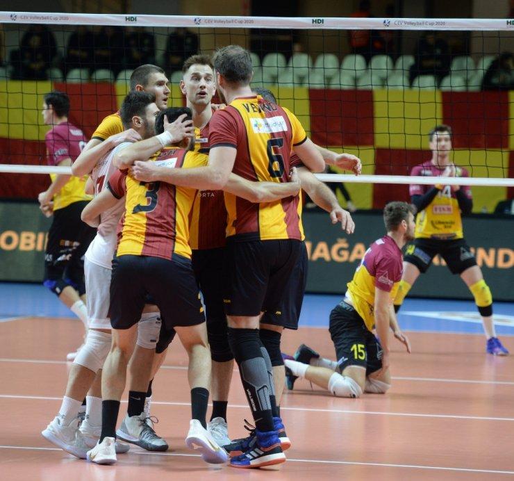 2020 Erkekler CEV Kupası: Galatasaray HDI Sigorta: 3 - Dukla Liberec: 1