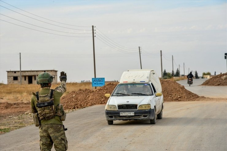 """""""Tel Abyad ve Rasulayn'da toplam 41 yol kontrol noktası oluşturuldu"""""""