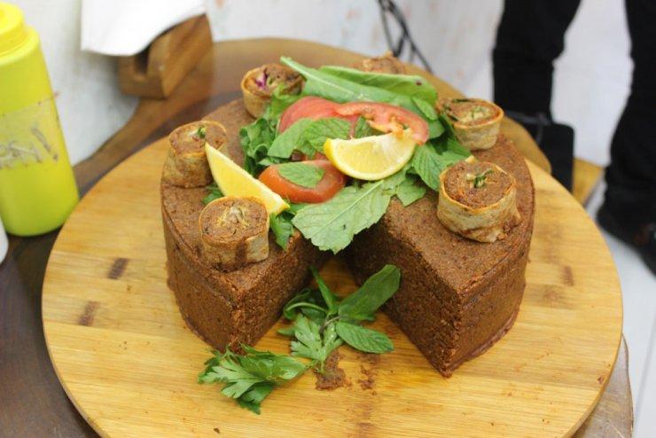 Bu da çiğ köfte pastası