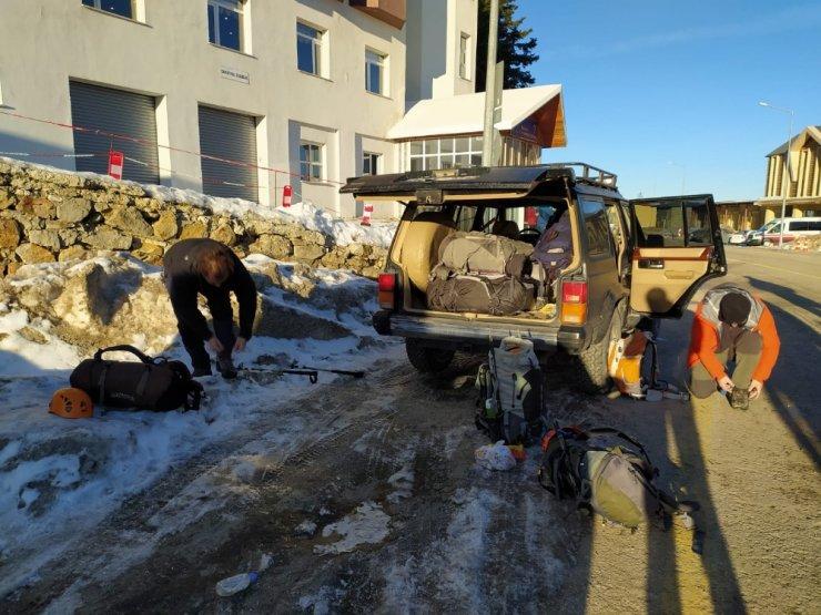 Kayıp amatör dağcılar için 15. günde büyük seferberlik