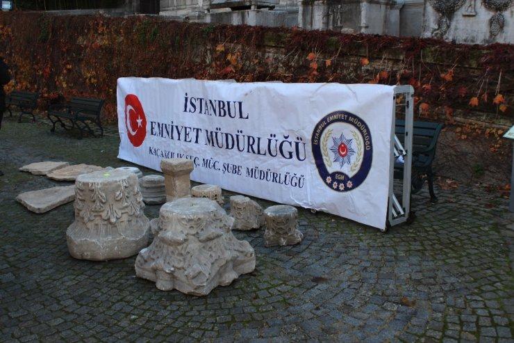 İstanbul'daki tarihi eser kaçakçılarına operasyon; 2 gözaltı