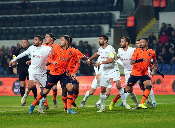 Süper Lig: M.Başakşehir: 1 - İ.H. Konyaspor: 1 (Maç sonucu)