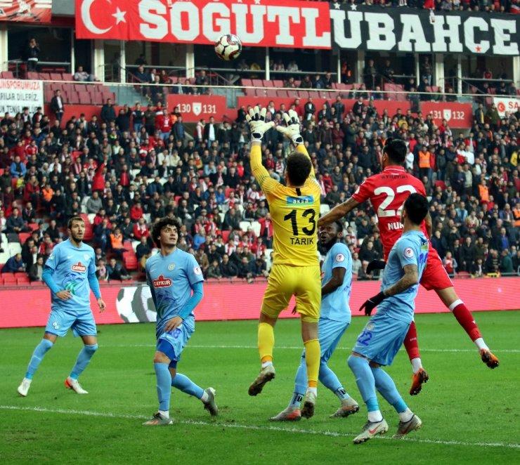Ziraat Türkiye Kupası: Samsunspor: 1 - Çaykur Rizespor: 1 (Maç sonucu)