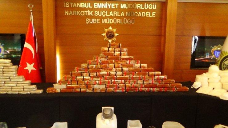İstanbul'da 7 ilçede operasyon: 200 kilo uyuşturucu ele geçirildi