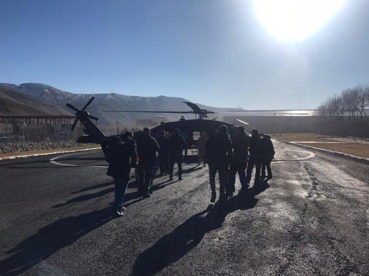 Vali ve komutanlar operasyon bölgesinde