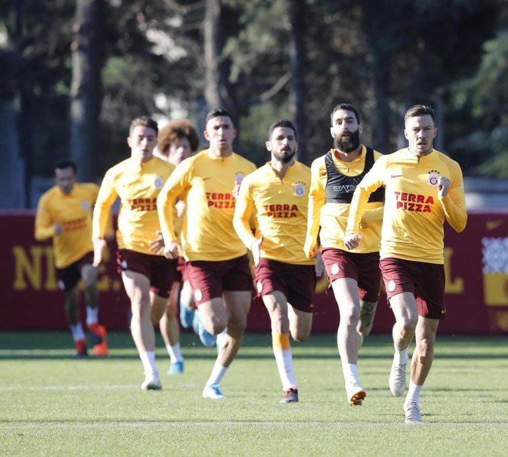 Galatasaray'da Göztepe mesaisi başladı