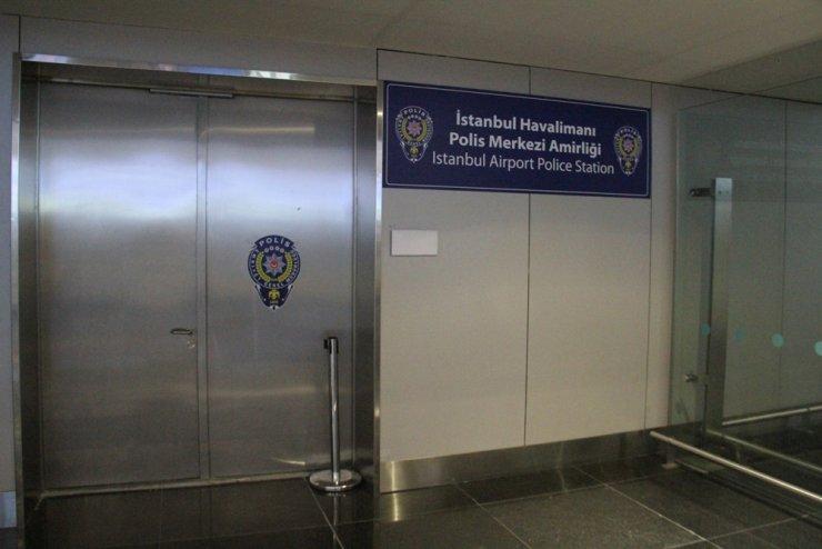 İstanbul Havalimanı'nda karakol açıldı