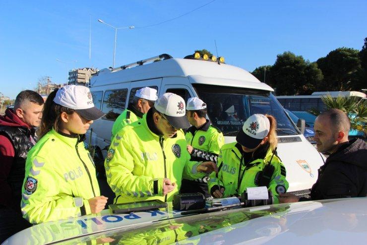 Trabzon'da trafik polislerinin yüzde 25'i kadınlardan oluşuyor